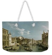 The Grand Canal In Venice From Palazzo Flangini To Campo San Marcuola Weekender Tote Bag