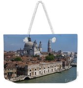 The Grand Canal In Venice  Weekender Tote Bag
