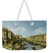 The Grand Canal Near The Rialto Bridge. Venice Weekender Tote Bag