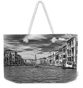 The Grand Canal - Paint Bw Weekender Tote Bag