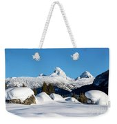 The  Grand Tetons From Alta Wyoming Weekender Tote Bag