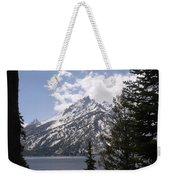 The Grand Tetons Lake Weekender Tote Bag