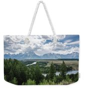 The Grand Tetons Weekender Tote Bag by Margaret Pitcher