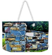 The Grateful Stone Wall Weekender Tote Bag