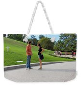 The Graves Of Robert F. Kennedy And Edward M. Kennedy -- Bobby And Ted Weekender Tote Bag