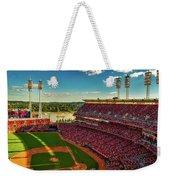 The Great American Ball Park - Cincinnati Weekender Tote Bag