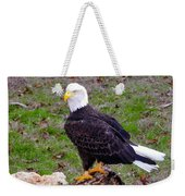 The Great Bald Eagle Weekender Tote Bag