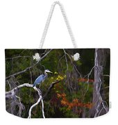 The Great Blue Heron Weekender Tote Bag