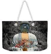 The Great Buddha Weekender Tote Bag