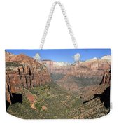 The Great Canyon Of Zion Weekender Tote Bag