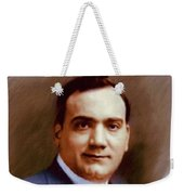 The Great Enrico Caruso Weekender Tote Bag