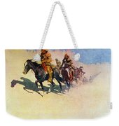 The Great Explorers Weekender Tote Bag by Frederic Remington