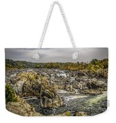 The Great Falls Of The Potomac Weekender Tote Bag