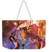 The Great Fire Of Woman Weekender Tote Bag