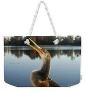 The Great Golden Crested Anhinga Weekender Tote Bag
