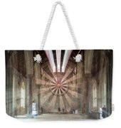 The Great Hall, Winchester Castle, Hampshire Zoom Burst Weekender Tote Bag