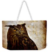 The Great Owl Weekender Tote Bag
