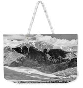 The Great Sand Dune Valley Bw Weekender Tote Bag