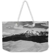 The Great Sand Dunes And Sangre De Cristo Mountains - Bw Weekender Tote Bag