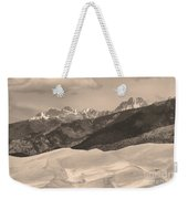 The Great Sand Dunes Sepia Print 45 Weekender Tote Bag by James BO  Insogna