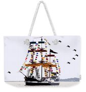 The Great Ship Gasparilla Weekender Tote Bag