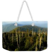 The Great Smoky Mountains Weekender Tote Bag