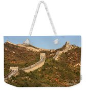 The Great Wall On Beautiful Autumn Day Weekender Tote Bag