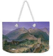 The Great Wall Of China Weekender Tote Bag by William Simpson