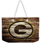 The Green Bay Packers 1b Weekender Tote Bag