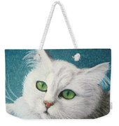 The Green Eyed Vamp Weekender Tote Bag