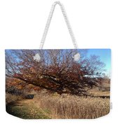 The Green Grass Road Weekender Tote Bag