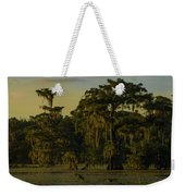 The Green Green Trees Of Home Weekender Tote Bag