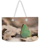The Green Hairstreak Weekender Tote Bag