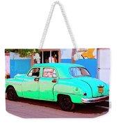 The Green Hornet Weekender Tote Bag