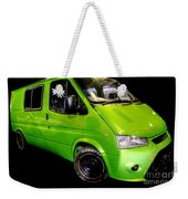 The Green Machine Weekender Tote Bag