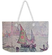 The Green Sail Weekender Tote Bag