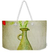 The Green Vase Weekender Tote Bag
