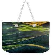 The Green Waves Of Palouse Wa Dsc05032  Weekender Tote Bag