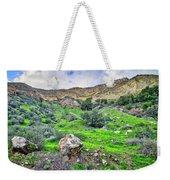 The Greening Of The Las Llajas Trail  Weekender Tote Bag