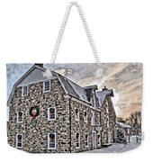 The Grist Mill And Ye Old Tavern Weekender Tote Bag