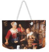 The Grocery Shop 1672 Weekender Tote Bag