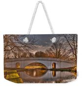 The Grove Bridge On The Grand Union Canal  Weekender Tote Bag