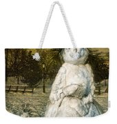 The Grunge Snowperson And Small Goth Friend Weekender Tote Bag