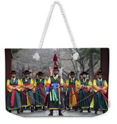 The Guards Of Seoul. Weekender Tote Bag