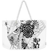Guitar Man...   - L'homme Guitare... Weekender Tote Bag