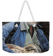 The Guitar Player Weekender Tote Bag