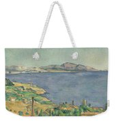 The Gulf Of Marseilles Seen From L'estaque Weekender Tote Bag