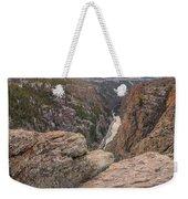 The Gunnison River At Black Canyon Weekender Tote Bag