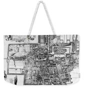 The Hague: Map, C1650 Weekender Tote Bag