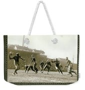 The Hail Mary Weekender Tote Bag